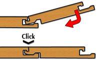 Система укладки ламината Click