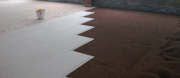 Укладка листового материала