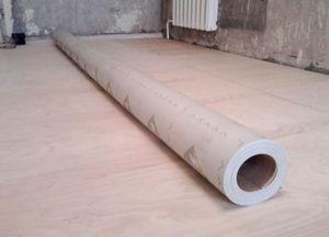 Настил линолеума на деревянный пол