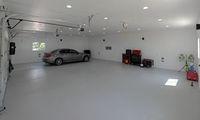 Напольное резиновое покрытие для гаража