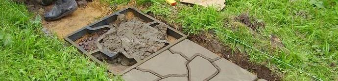 Как изготовить тротуарную плитку своими руками?
