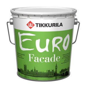 Тиккурила - фасадная краска по бетону