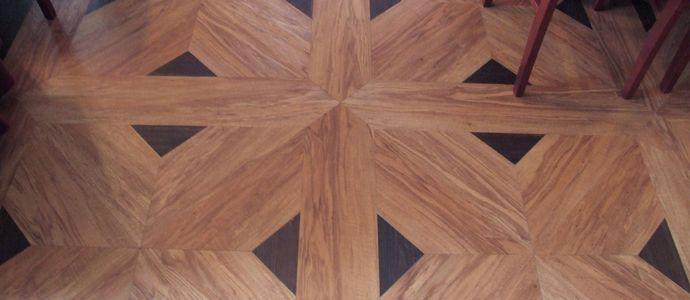 Кварцвиниловая плитка с рисунком