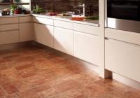 Стильный ламинат под плитку на кухне