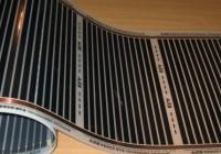Как выполнить монтаж тёплого плёночного пола под ламинат?