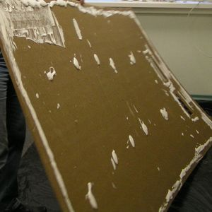 Подготовка к монтажу настенной плиты Изоплат