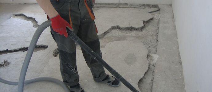 Подготовка поверхности под заливные полы