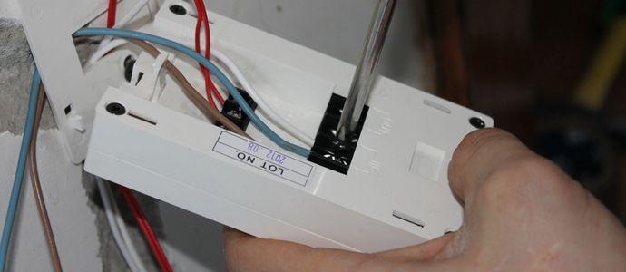 Подключение терморегулятора своими руками