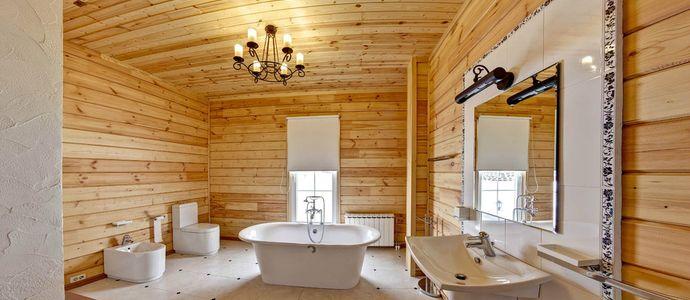 Ванная комната в частном доме: особенности прокладки 22