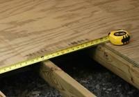 Как сделать полы в деревянном доме, своими руками?
