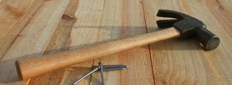 Ремонт деревянного пола в квартире