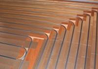 Как сделать тёплый пол в деревянном доме?