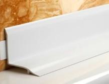 Бордюр из пластика для ванной