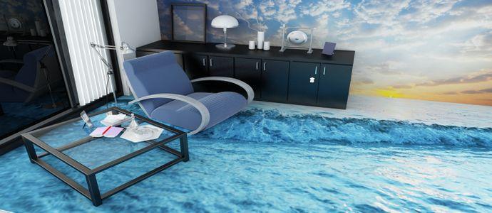 Фото наливных полов 3D в гостиной
