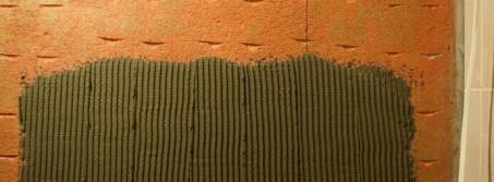как определить расход клея для плитки?