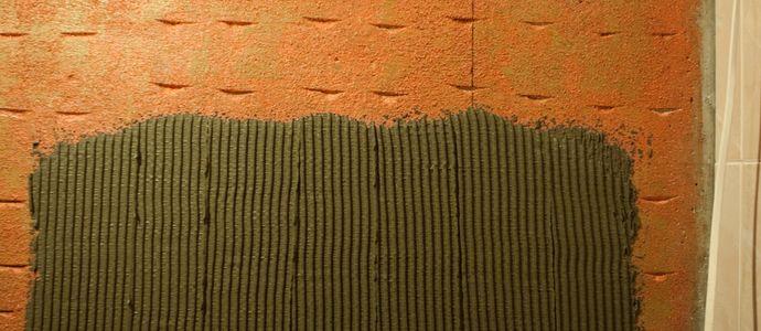 Расход клея для плитки
