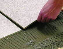 Как укладывать плитку под тёплый пол?