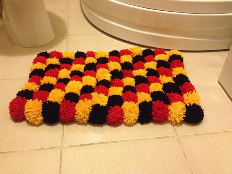 Как сделать коврик своими руками? 15 фото - как сделать, связать