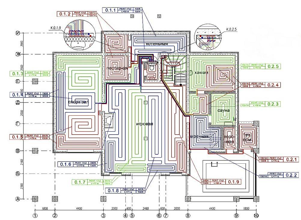 схематичное устройство системы